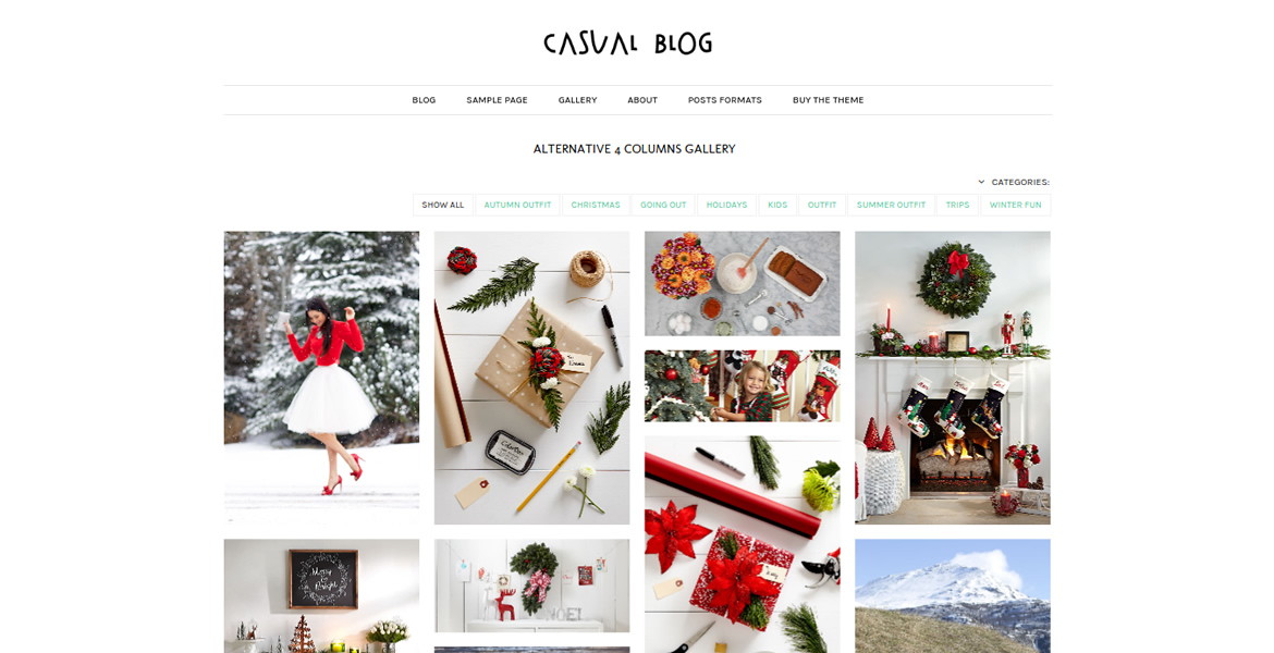 Casual-Blog-wp-theme-gallery