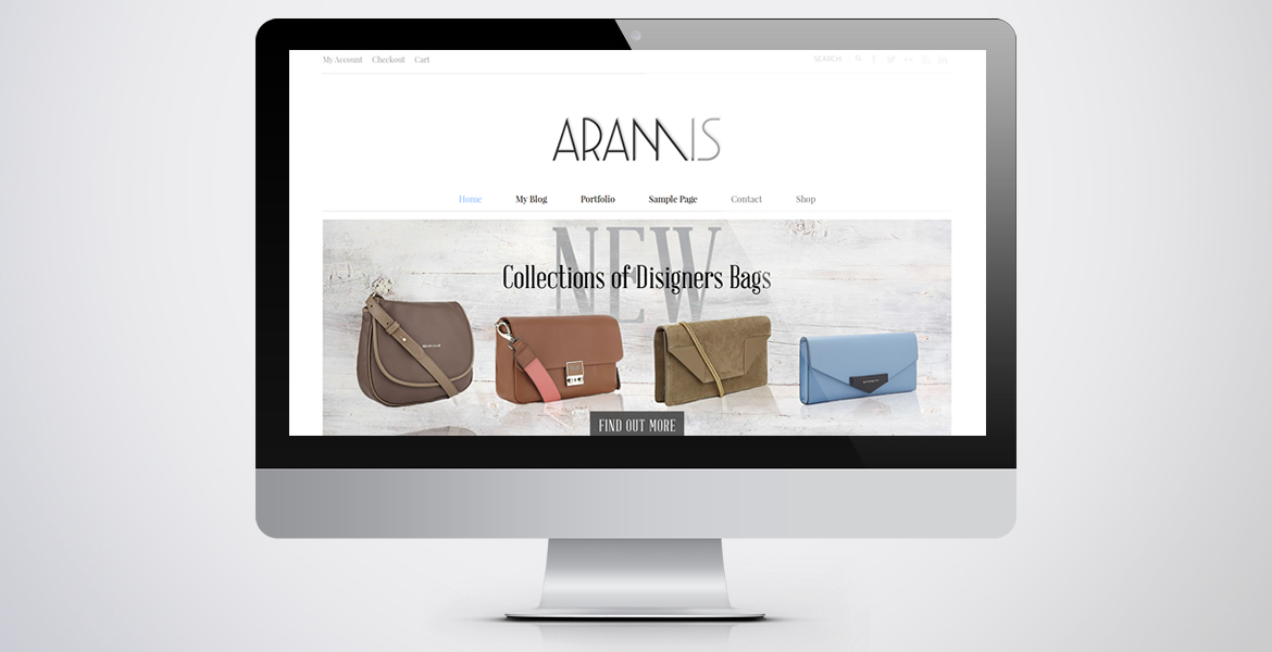 aramis-wordpress-theme