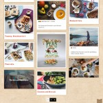 Rustic version of the Food Factory - Food & Recipes WordPress Theme.