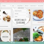 feminine food factory wordpress theme
