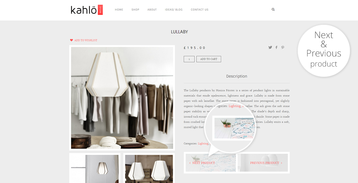 kahlo online shop template-next-prev product