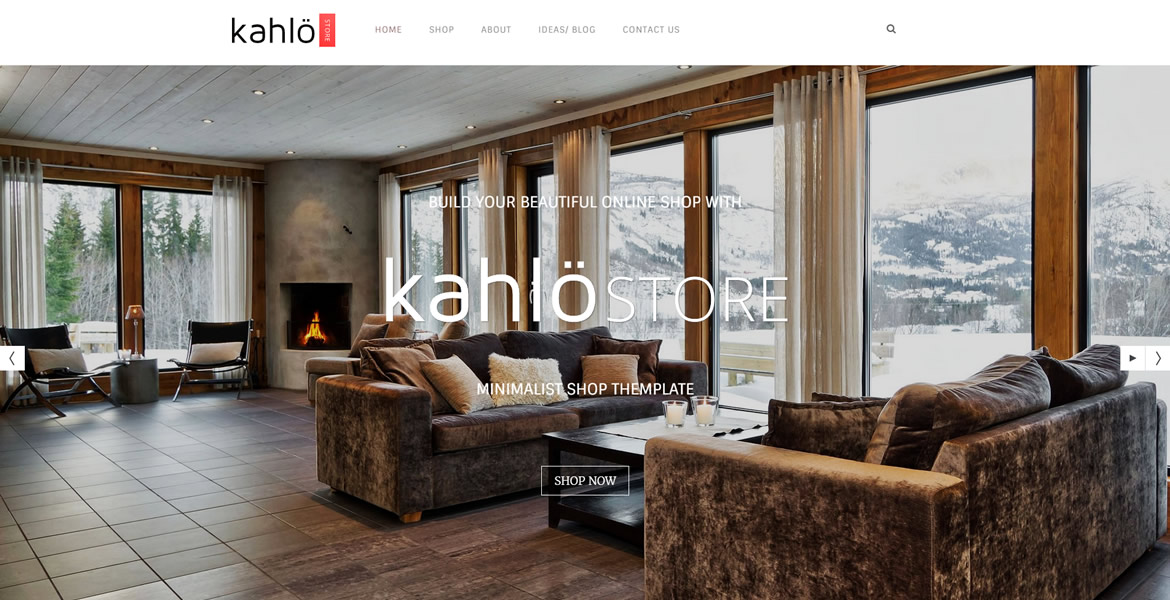 kahlo online shop template