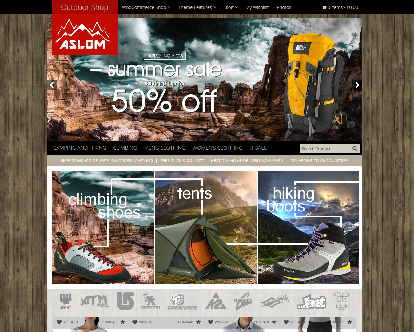 aslom_outdoors_camping_wordpress_shop_template