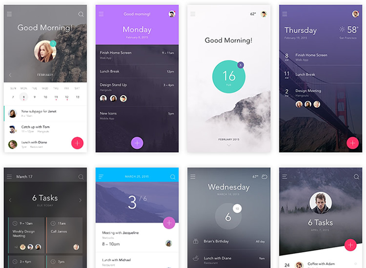 7 Free Ui Kits For Website Or Mobile App Projects