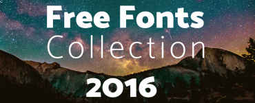 Best Free Fonts Collection 2016