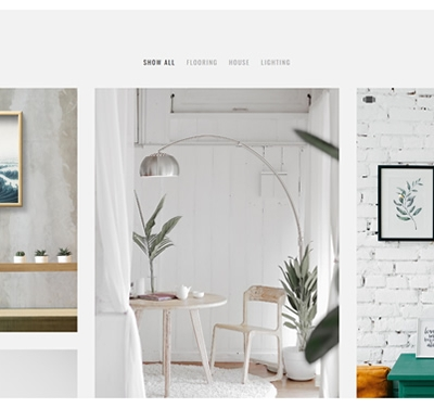 A minimal nordic portfolio theme for bloggers, artist and designers